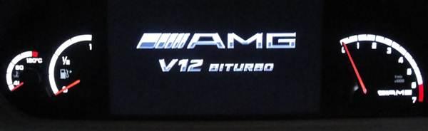 Das Startlogo von AMG