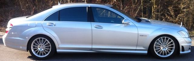 Fahrwerktieferlegung Mercedes-Benz S221 by ITC-Technologie