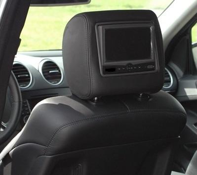mercedes benz kopfst tzen bildschirme monitor integriert. Black Bedroom Furniture Sets. Home Design Ideas