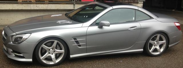 Mercedes-Benz SL 231 mit Fahrwerk-Verstellung ITC-Technologie