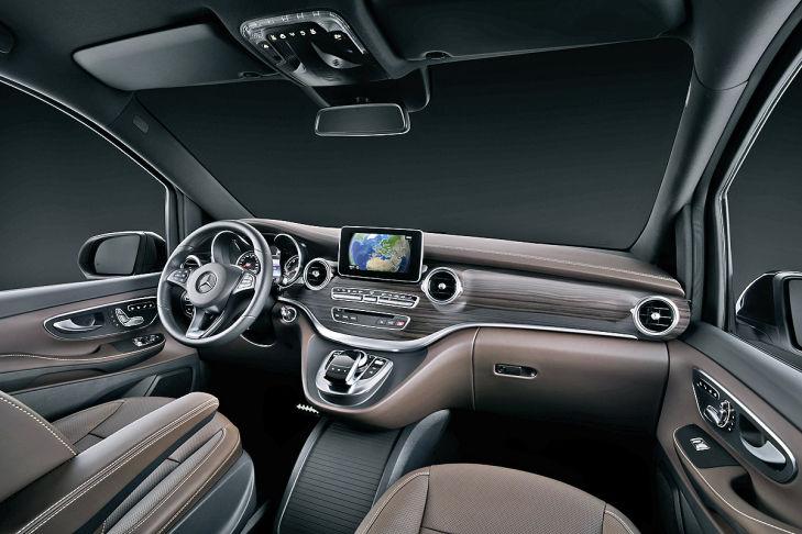 Mercedes-V-Klasse-Innenraum ITC-Technologie