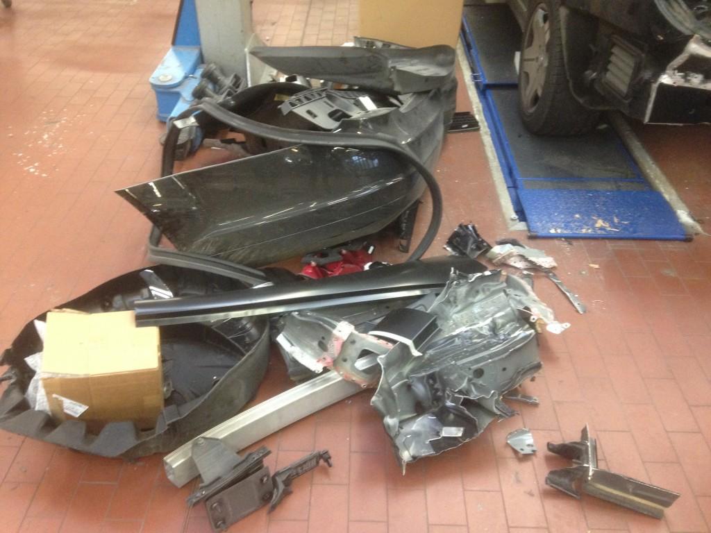 ITC-Technologie Schaden Mercedes-Benz CL 600 Altteile
