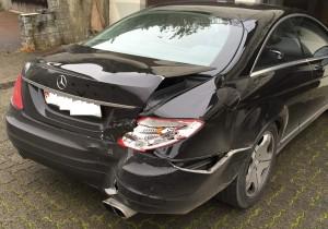 ITC-Technologie Schaden Mercedes-Benz CL 600 Ansicht hinten