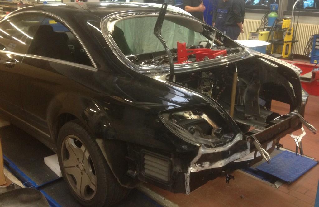 ITC-Technologie Schaden Mercedes-Benz CL 600 nach Ausbau