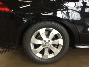 Mercedes-Benz GLE SUV hinten